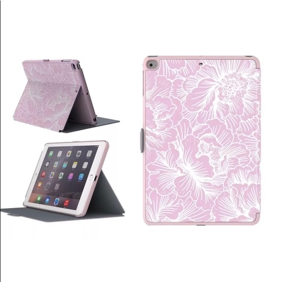 separation shoes 497a7 089d3 Speck iPad Air and air 2 case floral pink/ grey